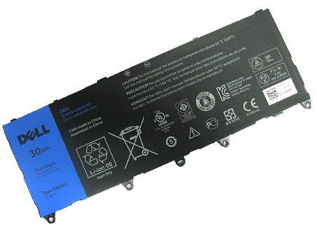7.4v 30Wh Dell 0WGKH laptop battery