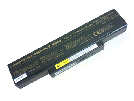 Clevo M76X battery