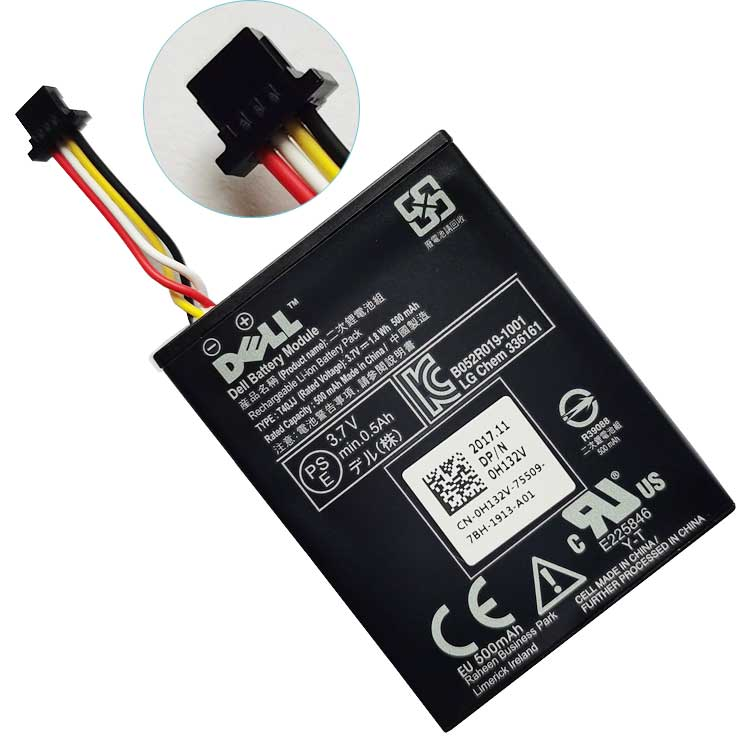 Dell PERC RAID T40JJ laptop battery