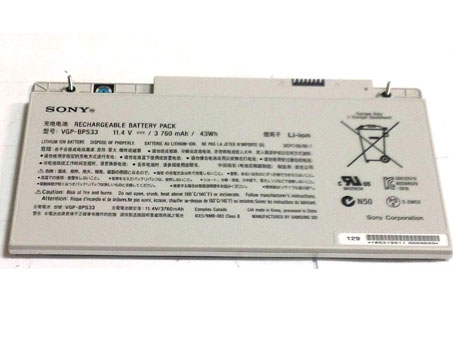 SONY VAIO SVT-15 Touchscreen Ultrabooks battery