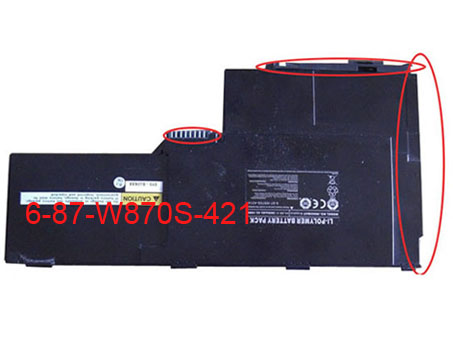 CLEVO 6-87-W870S-421A battery